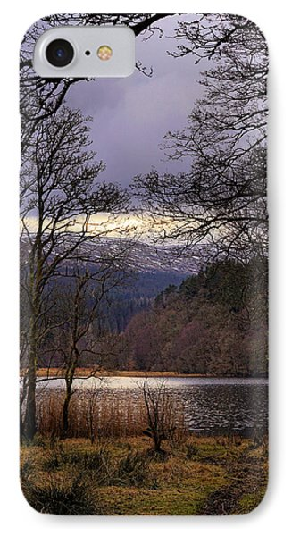 IPhone Case featuring the photograph Loch Venachar by Jeremy Lavender Photography