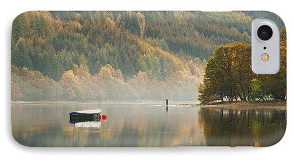Loch Voil - Scotland IPhone Case by Rod McLean