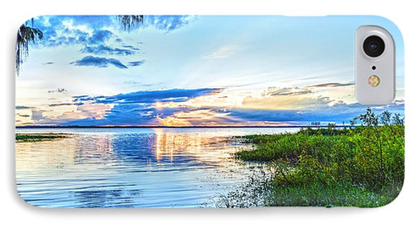 IPhone Case featuring the photograph Lochloosa Lake by Anthony Baatz