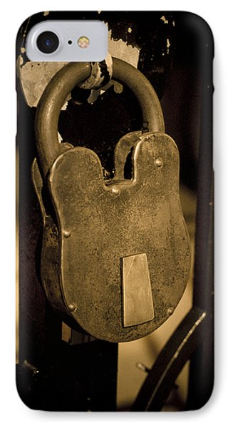 IPhone Case featuring the photograph Locked Away by Christi Kraft