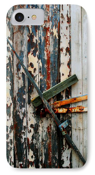 Locked Door Phone Case by Perry Webster