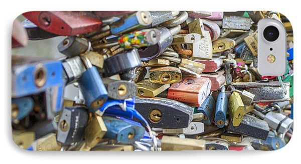 Locked In Love IPhone Case