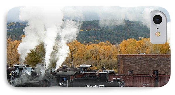 Locomotive At Chama IPhone Case