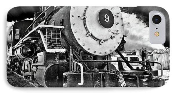 Locomotive Nine IPhone Case by Marius Sipa