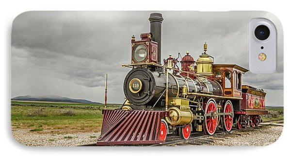IPhone Case featuring the photograph Locomotive No. 119 by Sue Smith