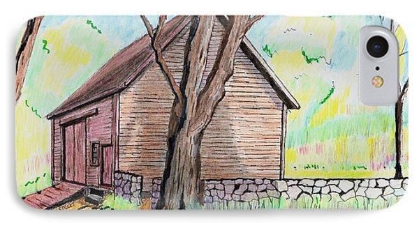 Locust Street Ild Barn IPhone Case by Paul Meinerth
