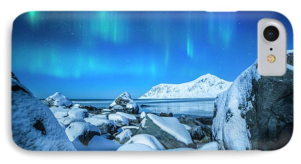 Lofoten Aurora IPhone Case