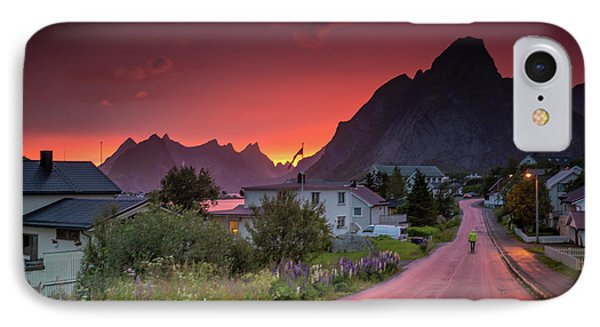 Lofoten Nightlife  IPhone Case