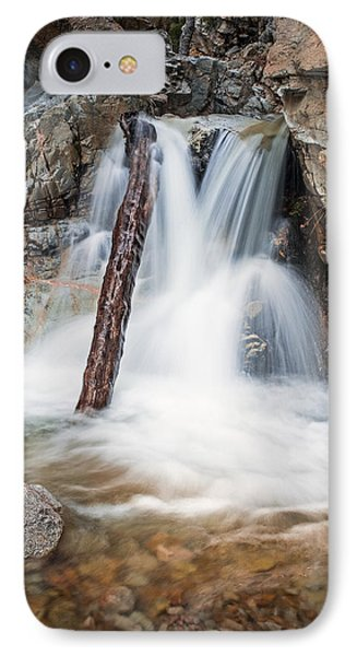 Log In The Waterfall IPhone Case