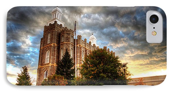 Logan Temple Cloud Backdrop IPhone Case