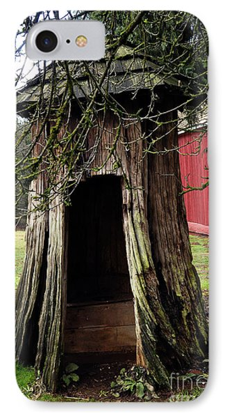 Loggers Outhouse IPhone Case by Clayton Bruster
