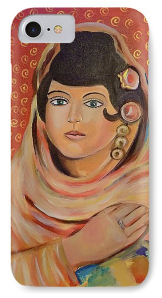 IPhone Case featuring the painting Lola by John Keaton