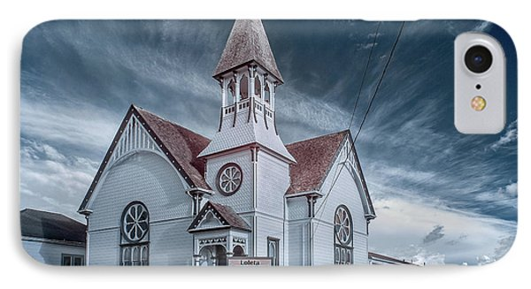Loleta Church IPhone Case by Greg Nyquist