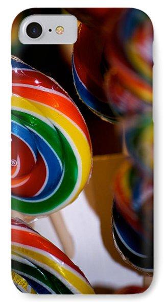 Lollipops Phone Case by Lisa Knechtel