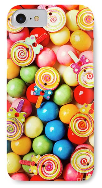 Lolly Shop Pops IPhone Case by Jorgo Photography - Wall Art Gallery