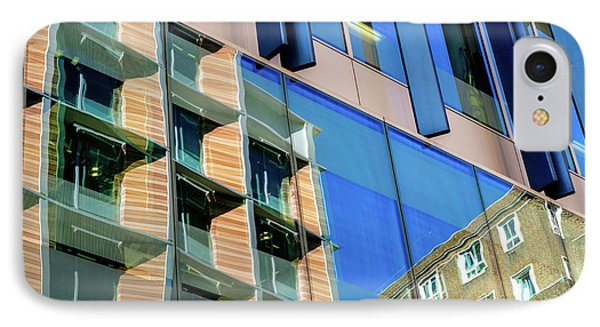 London Bankside Architecture 3 IPhone Case by Judi Saunders