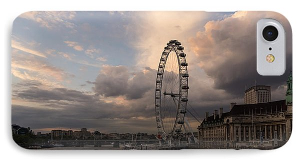 London Eye Drama IPhone Case