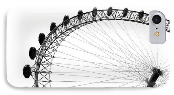 London Eye iPhone 7 Case - London Eye by Erik Brede