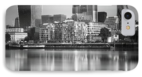 London Financial District IPhone Case by Ivo Kerssemakers