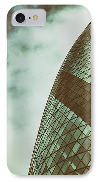 London Gherkin IPhone Case by Martin Newman