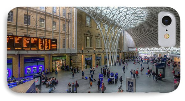 IPhone Case featuring the photograph London King's Cross by Yhun Suarez