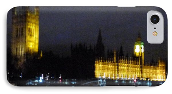 IPhone Case featuring the photograph London Late Night by Christin Brodie