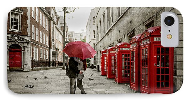 London Love IPhone Case