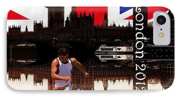 London Olympics 2012 Phone Case by Sharon Lisa Clarke