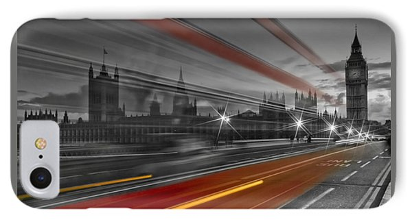 London Red Bus IPhone 7 Case by Melanie Viola