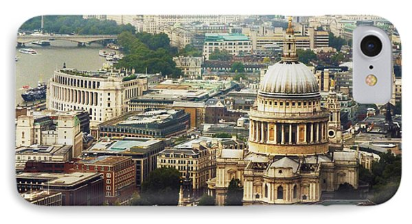 London Rooftops IPhone Case by Judi Saunders