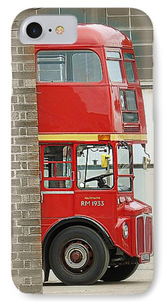London Routemaster IPhone Case by Timothy Morgan