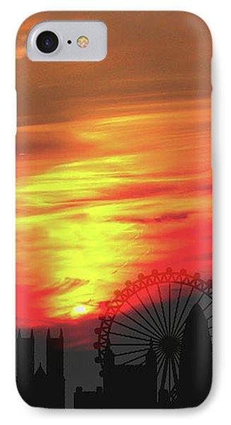 Sunset London IPhone Case
