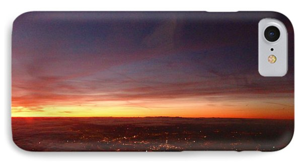 London Sunset IPhone Case by AmaS Art