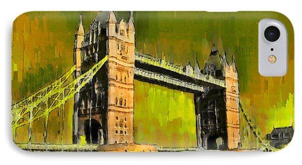 London Tower Bridge 15 - Da IPhone Case
