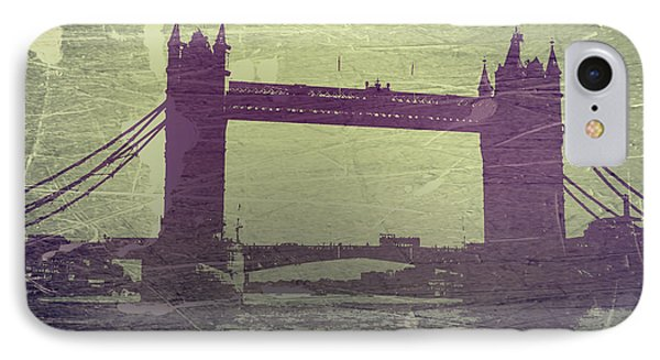 London Tower Bridge IPhone Case by Naxart Studio
