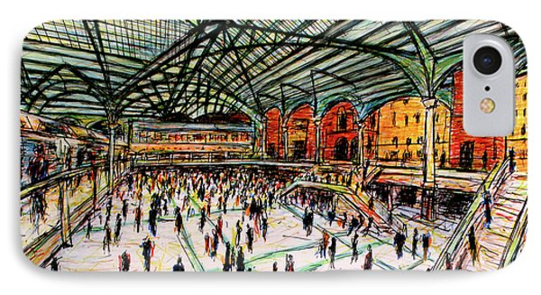 London Train Station IPhone Case