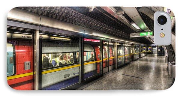 London Underground IPhone Case by David Pyatt