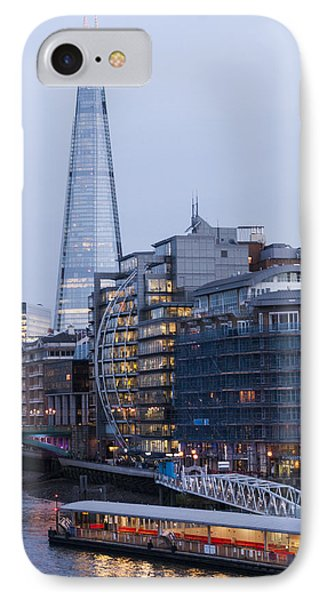 London's Shard IPhone Case by David Isaacson
