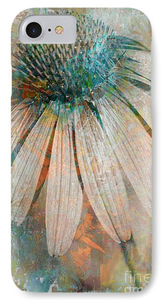 Lone Coneflower IPhone Case by T Anderson