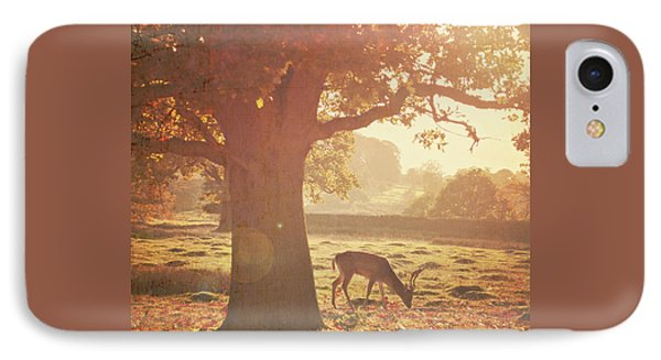 IPhone Case featuring the photograph Lone Deer by Lyn Randle