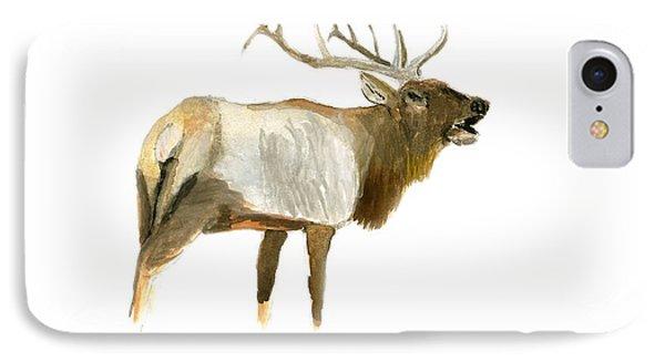 Lone Elk IPhone Case