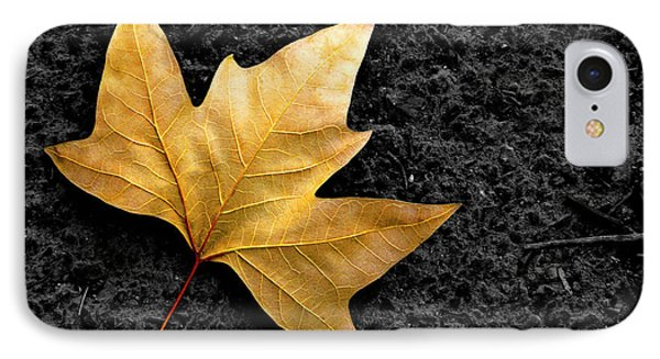 Lone Leaf Phone Case by Carlos Caetano