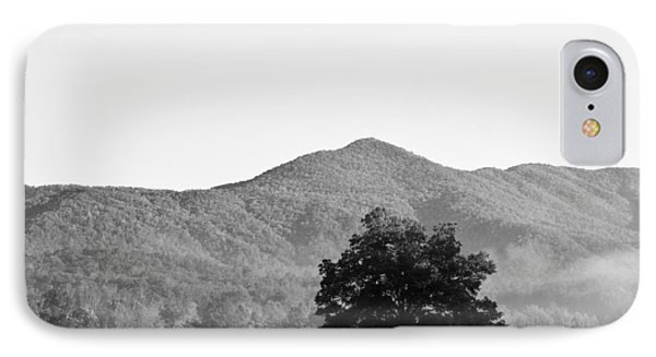 IPhone Case featuring the photograph Lone Mountain Tree by Bob Decker