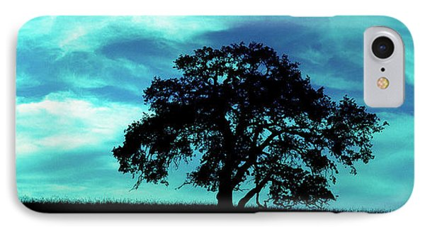 IPhone Case featuring the photograph Lone Oak by Jim and Emily Bush