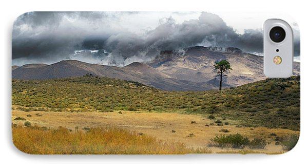 IPhone Case featuring the photograph Lone Pine High Desert Nevada by Frank Wilson