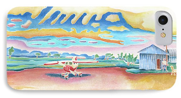Lone Rock Airport Phone Case by Linda Kelen