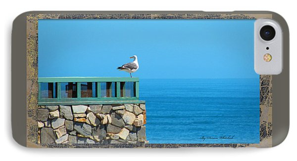 Lone Sea Gull Phone Case by Doreen Whitelock