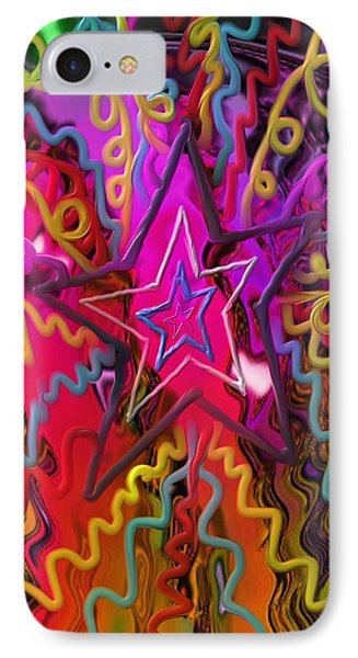 Lone Star IPhone Case by Kevin Caudill