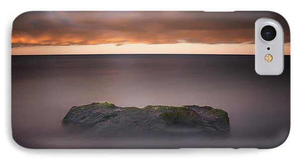 IPhone Case featuring the photograph Lone Stone At Sunrise by Adam Romanowicz