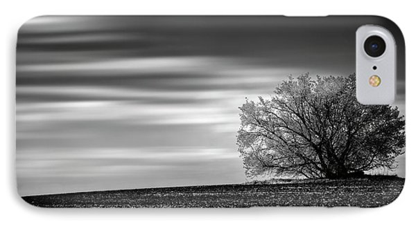 IPhone Case featuring the photograph Lone Tree by Dan Jurak